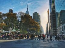 曼哈顿纽约 图库摄影