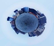 曼哈顿行星  图库摄影
