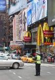 曼哈顿街道场面 免版税图库摄影