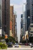 曼哈顿街道 免版税图库摄影