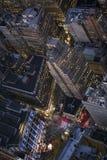 曼哈顿街 免版税库存图片