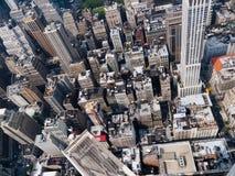 曼哈顿视图从帝国大厦的 免版税库存照片