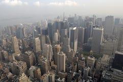 曼哈顿视图 库存图片