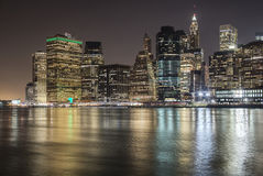 曼哈顿视图 免版税库存照片