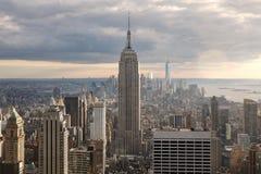 曼哈顿风景 库存照片