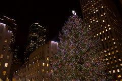 曼哈顿,纽约大厦  库存照片