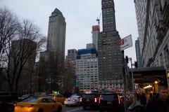 曼哈顿,纽约大厦  库存图片