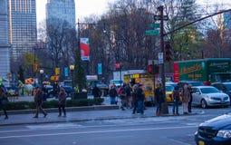 曼哈顿,纽约大厦  免版税库存图片