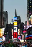 曼哈顿,纽约,美国建筑学  库存照片