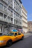 曼哈顿,街道在苏豪区 库存图片