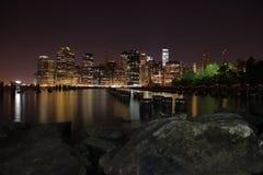 曼哈顿 城市纽约 美国状态团结了 库存图片