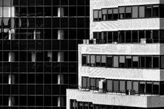 曼哈顿建筑学 免版税库存照片