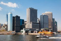曼哈顿 纽约 免版税库存照片