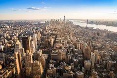 曼哈顿 免版税库存照片