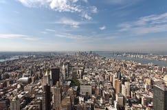 曼哈顿Arerial视图  免版税图库摄影