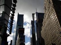 曼哈顿ny skyscripers 库存图片