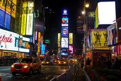 曼哈顿nyc正方形时间 免版税图库摄影