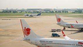 廊曼国际机场,曼谷 库存照片
