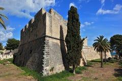 曼弗雷多尼亚,普利亚,意大利 免版税图库摄影