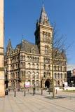 曼彻斯特城镇厅英国 免版税库存照片