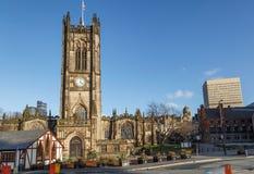 曼彻斯特大教堂英国 免版税图库摄影