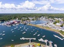 曼彻斯特由这海,海角安,马萨诸塞,美国 库存图片