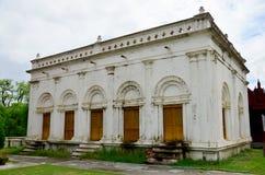 曼德勒宫殿在曼德勒,缅甸 库存照片