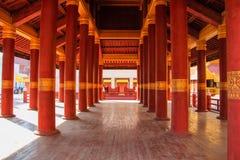 曼德勒宫殿,缅甸的(Burmar)曼德勒 库存照片