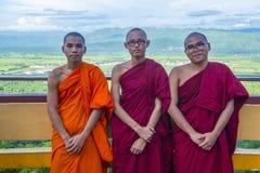曼德勒小山缅甸 图库摄影