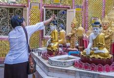 曼德勒小山缅甸 免版税图库摄影
