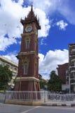 曼德勒尖沙咀钟楼。 免版税库存照片