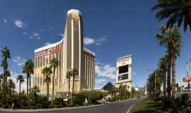 曼德勒海湾赌博娱乐场和旅馆豪华旅游胜地在拉斯维加斯 免版税图库摄影