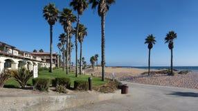 曼德勒海滩, Oxnard,加州 免版税库存图片