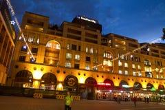 曼德拉广场在约翰内斯堡 免版税库存图片