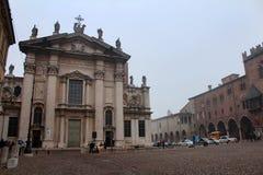 曼托瓦大教堂,曼托瓦,意大利 免版税图库摄影