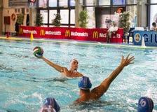 曼托瓦, 9月, 26日:安德里亚Razzi (Bpm体育管理) 免版税库存照片