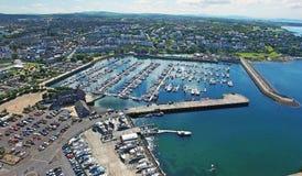 曼格小游艇船坞Co 下来北爱尔兰 免版税库存照片