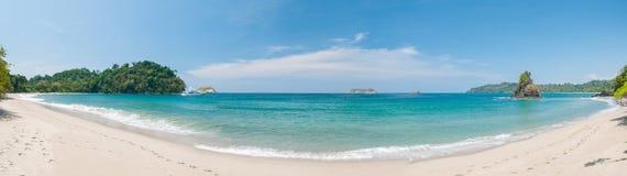 曼纽尔安东尼奥海滩 库存照片