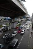 曼谷业务量 库存照片