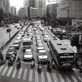 曼谷业务量 免版税库存照片
