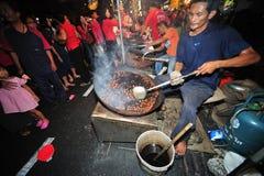 曼谷中国新年度 免版税库存照片