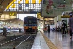 曼谷中央火车站 库存照片