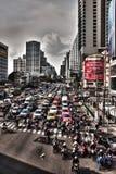 曼谷交通 库存图片