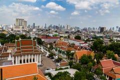 曼谷全景 库存图片