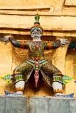 曼谷全部宫殿雕象 免版税库存照片