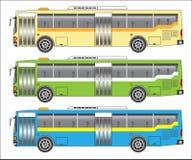 曼谷公共汽车 免版税图库摄影