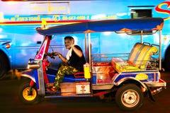 曼谷出租汽车 免版税图库摄影