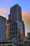 曼谷列住宅 免版税库存图片
