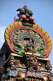 曼谷印度寺庙泰国塔 免版税库存图片