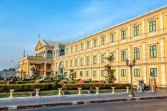 兴建曼谷和博物馆的国防部 免版税图库摄影
